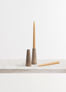 Wooden Spool Candle Holders