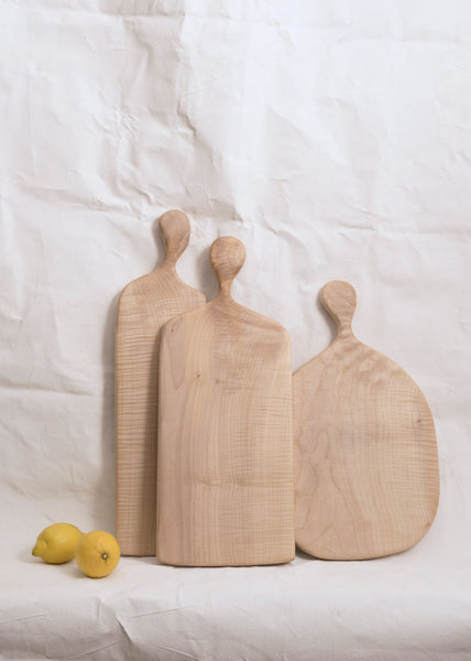 Large Chopping Board in English Sycamore by The Woodlark