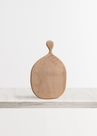 Medium Chopping Board in English Sycamore by The Woodlark