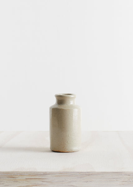 Stoneware Ink Bottle Vase