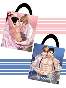 The Yaoi Army Double-Sided Design Tote Bag