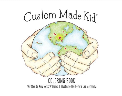 Custom Made Kid™ Coloring Book