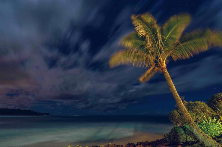 """Slipping Into the Night"" Print  //  North Shore, HI"
