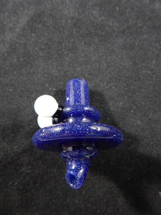 Reverend Morse Blue and White Carb Cap