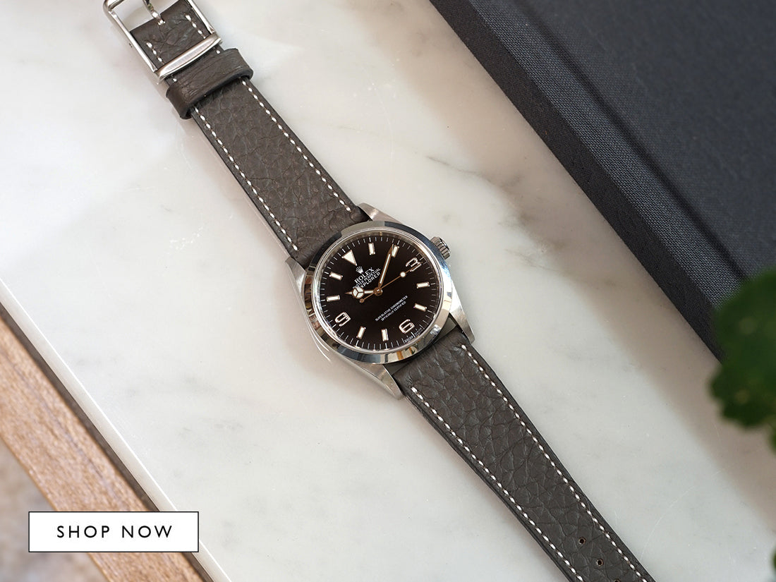 grey strap for Rolex
