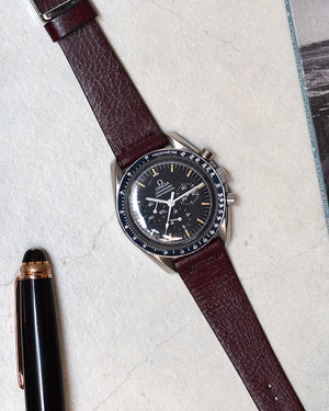 Omega Speedmaster on Bourbon Leather Watch Strap