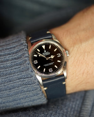 blue strap for rolex explorer 1