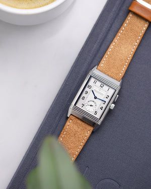 jaeger lecoultre with suede strap
