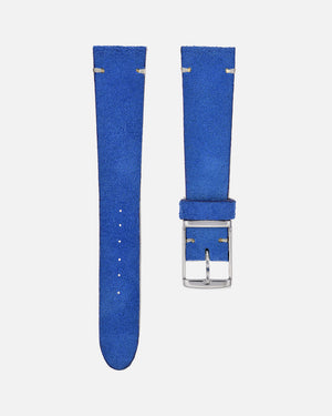 Suede Cobalt Blue Watch Strap