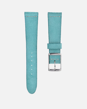 Suede Turquoise Watch Strap