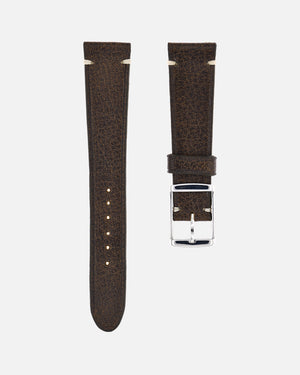 Vintage Brown Minimal Watch Strap