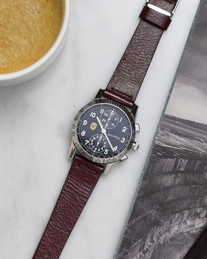 eberhard leather watch strap