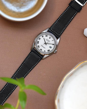 rolex 1600 leather strap