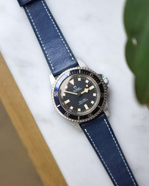 tudor snowflake blue watch strap