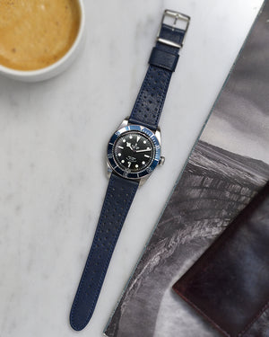 black bay blue eta watch strap