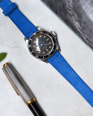 Suede Watch Strap for tudor submariner