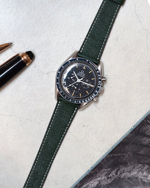 omega speedmaster green watch strap