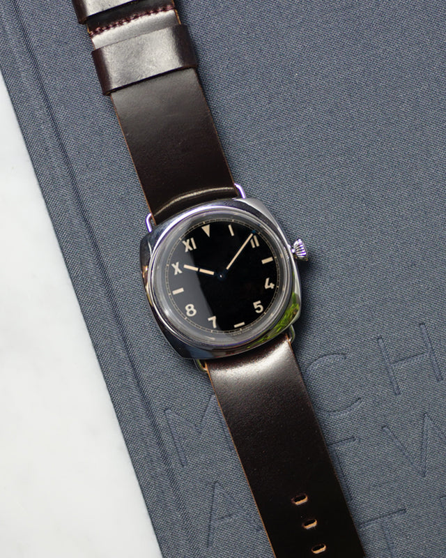 Burgundy Single-Piece Shell Cordovan for Panerai