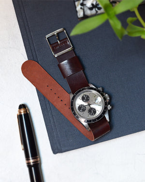 tudor tiger on shell cordovan nato watch strap