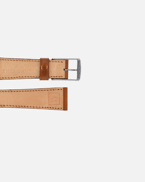 Caramel Brown Shell Cordovan Watch Strap