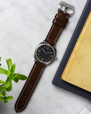 brown panerai strap