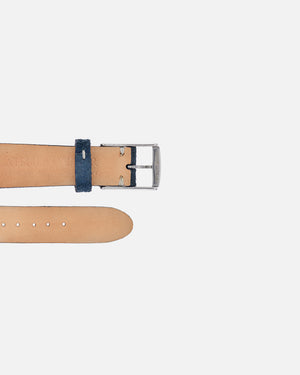 Deep Blue Suede Watch Strap