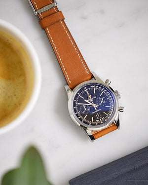 breitling trasnocean brown watch strap