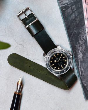 tudor 7928 with green nato strap