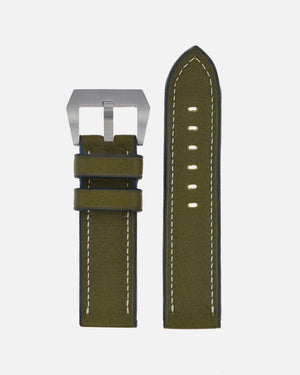 Olive Green Calfskin Strap for Panerai