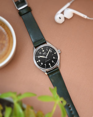 Green Shell Cordovan Watch Strap for IWC mark 18
