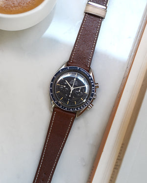 The Homem Watch Strap In Dark Brown