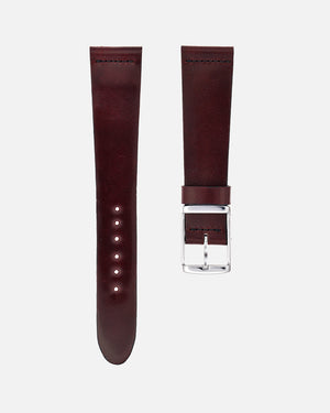 Oxblood Shell Cordovan Watch Strap