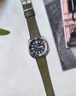 seiko submariner leather strap