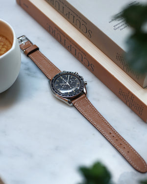 Natural Textured Brown Watch Strap
