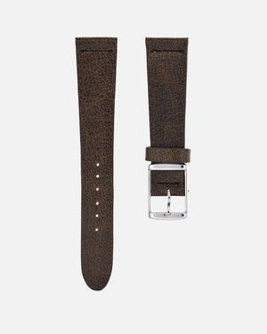 Vintage Brown Leather Watch Strap