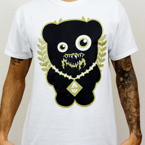 WHITE TRILL BEAR