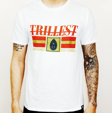 White Trillest Tee