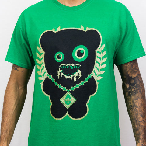 IRISH GREEN TRILL BEAR