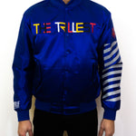 Royal Blue Bomber Jacket