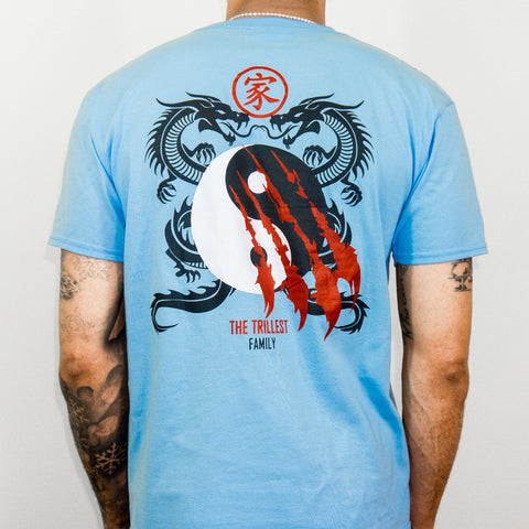 Light Blue Dragon Tee