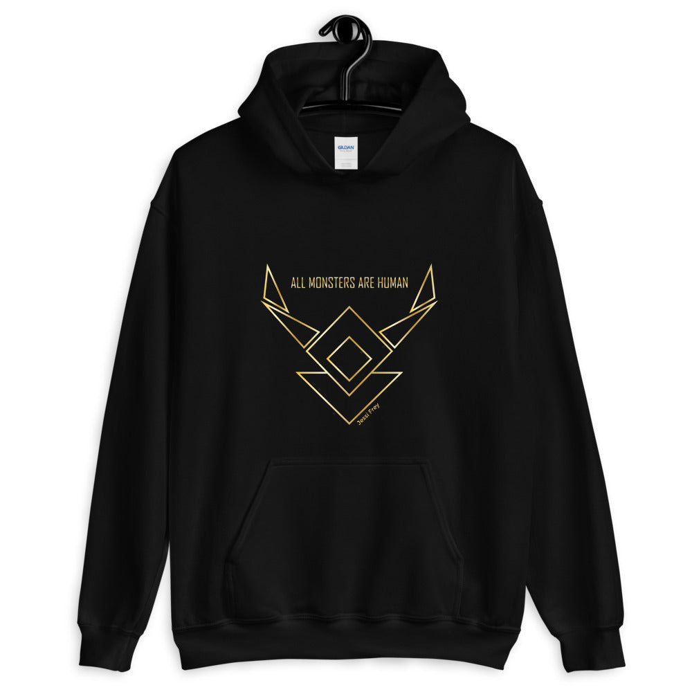 All Monsters Are Human - hoodie