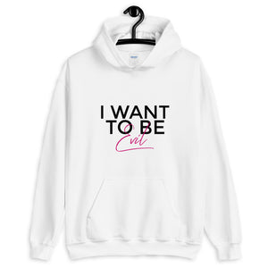 I Want To Be Evil (Pastel Edition) Hoodie