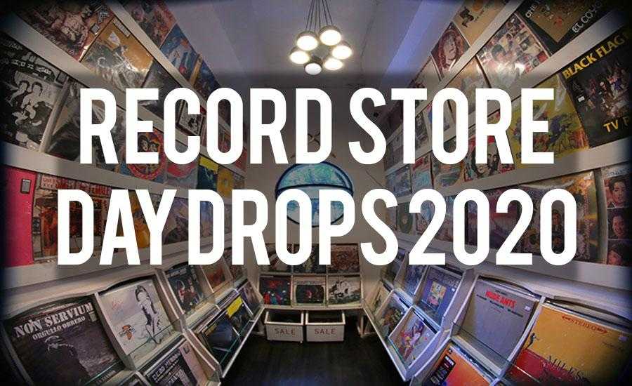 Record Store Day Drops 08 / 29 / 2020