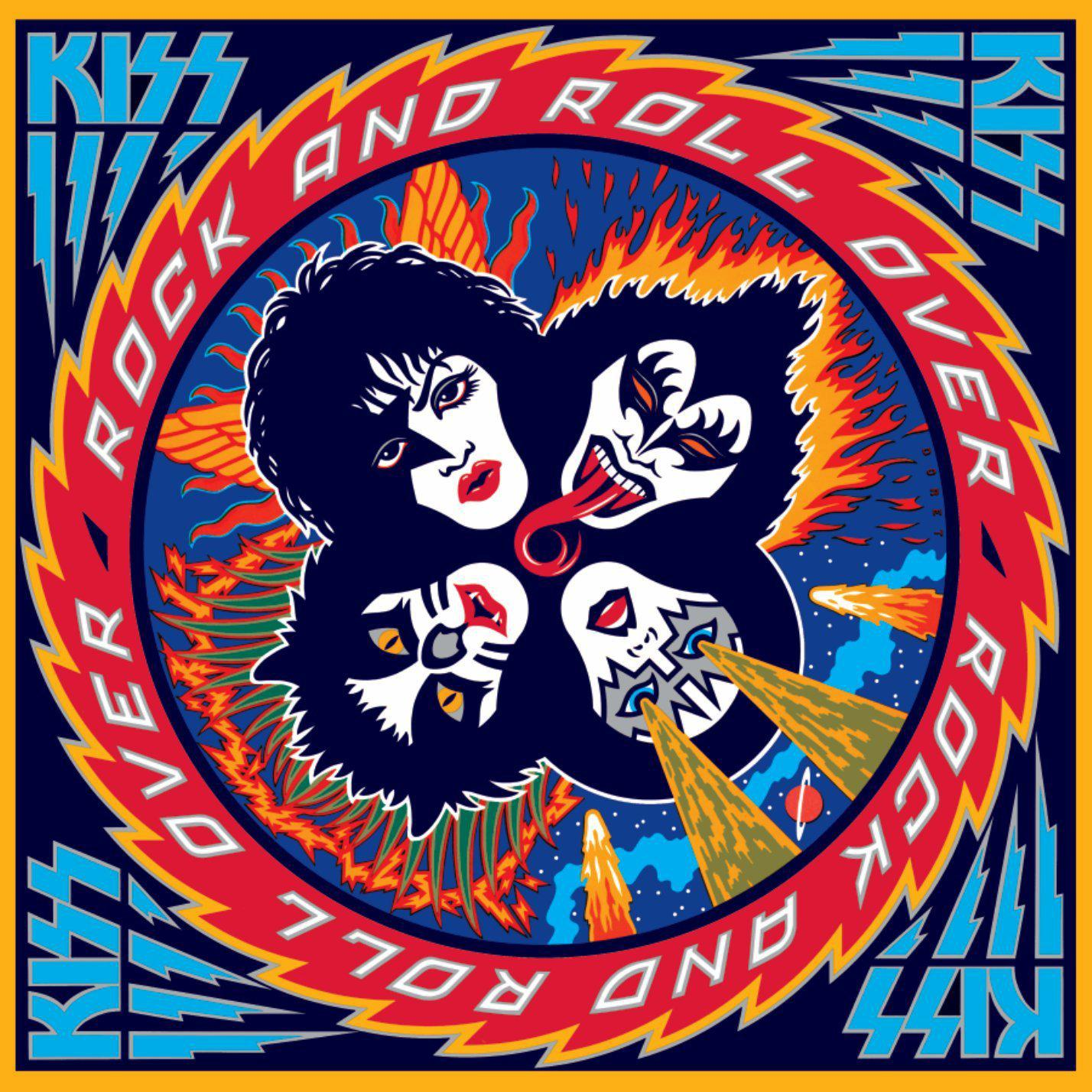 Kiss - Rock and Roll Over - Dagga Tattoos + Record Shop