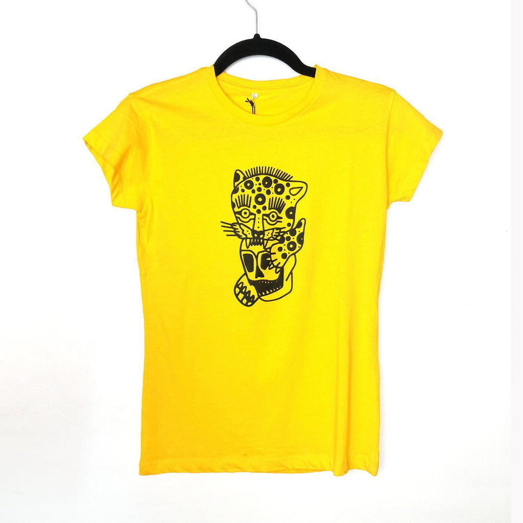 Camiseta Jaguar - Dagga Tattoos + Record Shop