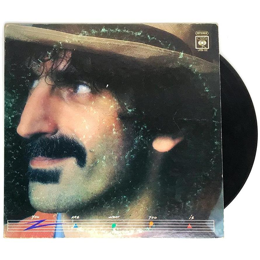 Frank Zappa - You are What you is - Dagga Tattoos + Record Shop