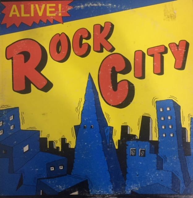 Alive - Rock City - Dagga Tattoos + Record Shop
