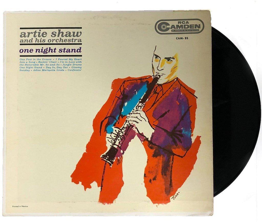 Artie Shaw & His Orchestra - One Night Stand - Dagga Tattoos + Record Shop