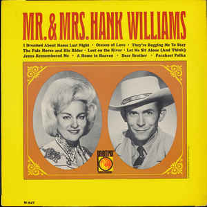 Mr & Mrs Hank Williams