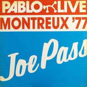 Joe Pass - Pablo Live Montreux 77 - Dagga Tattoos + Record Shop